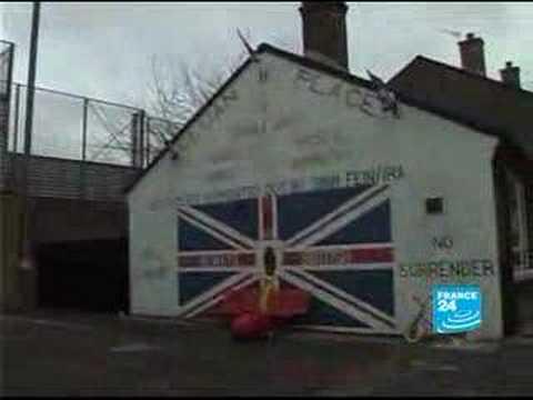 Belfast still split by 'Peace Walls'