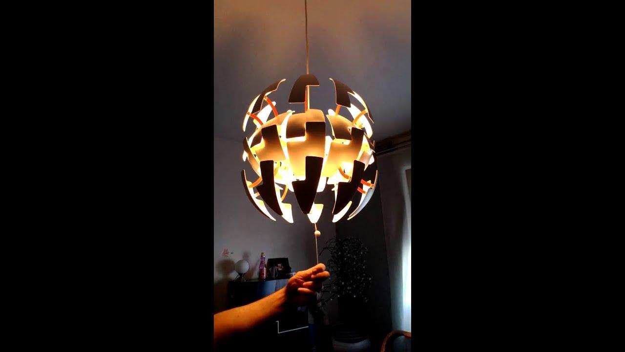 Led Lampen Ikea : Todesstern transformers led lampe light ikea youtube