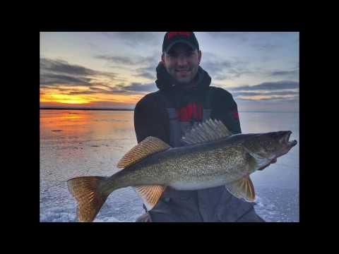 Little Bay De Noc Ice Fishing