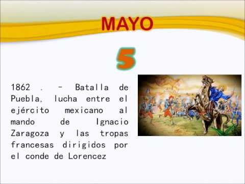 Efemerides 5 De Mayo Youtube