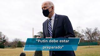 """Biden llama """"asesino"""" a Putin;"""