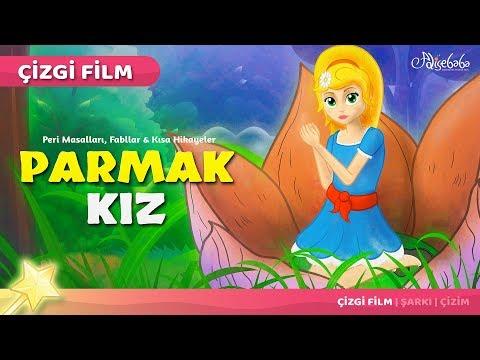 Parmak Kız çizgi film masal 25 - Adisebaba Çizgi Film Masallar
