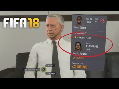 HOW TO SIGN PLAYERS FOR LESS IN FIFA 18 CAREER MODE!!! | LOAN PLAYER GLITCH