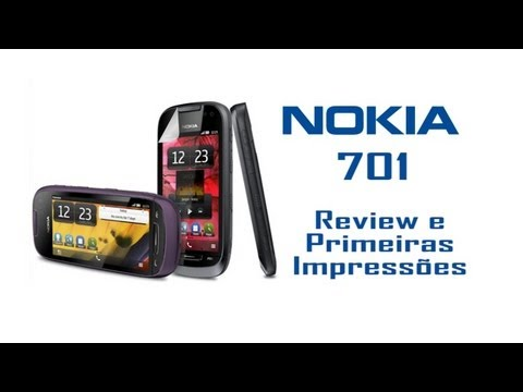 Smartphone Nokia 701 - Unboxing e Primeiras Impressões - HD PT-BR