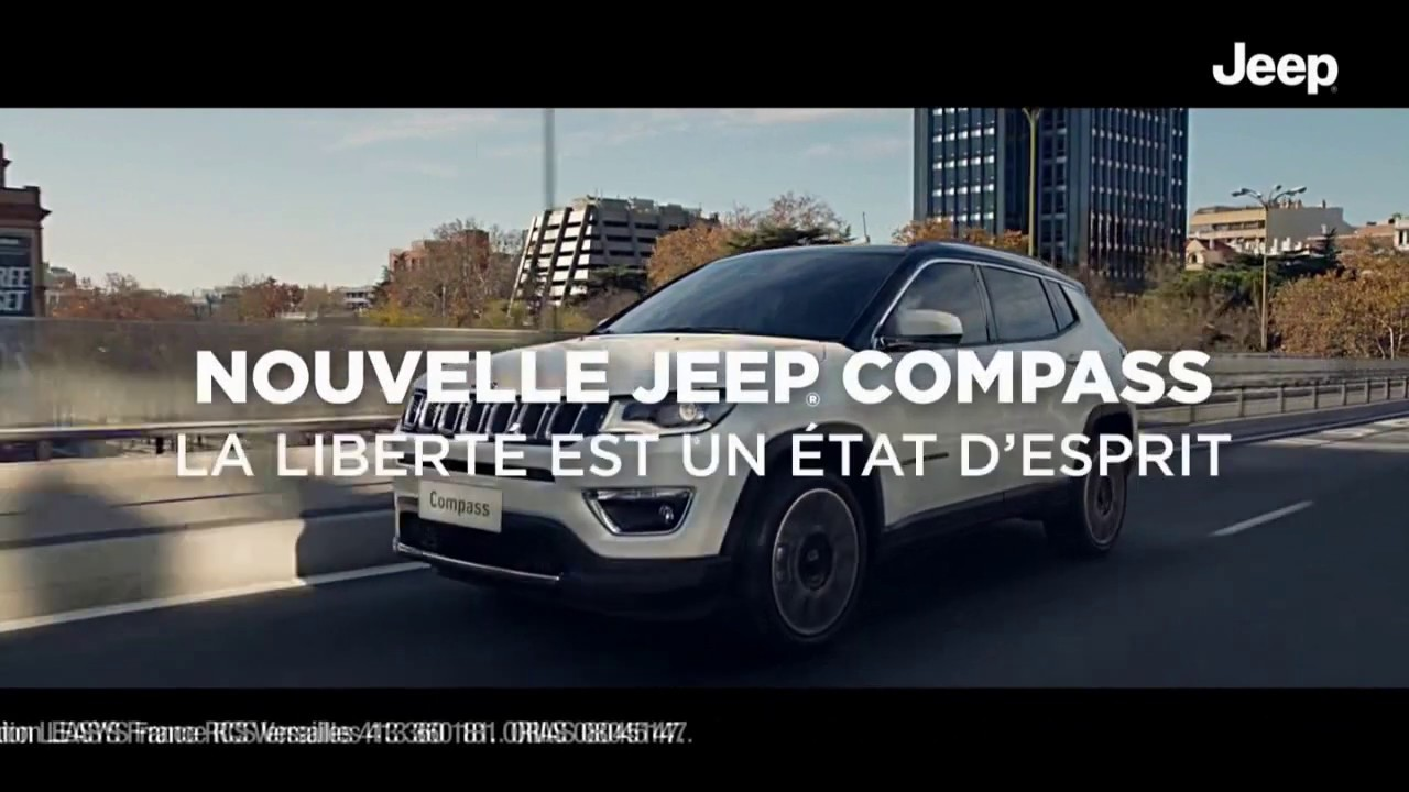 """Musique de la pub Nouvelle Jeep Compass """"la liberté est un état d'esprit""""  2021"""