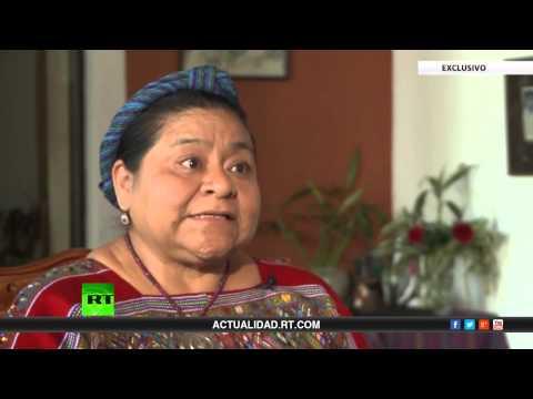 Entrevista con Rigoberta Menchú, premio Nobel de la Paz