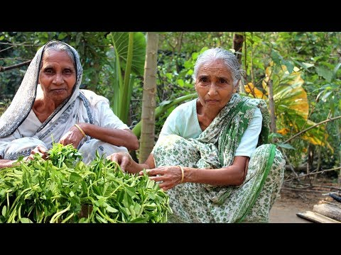 Download Youtube: Grandma's Special Fenugreek Leaf Recipe | Tasty & Healthy Vegetarian Dishes | Village Food