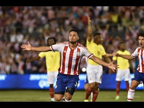 PARAGUAY 2-1 ECUADOR (RESUMEN Y GOLES) ELIMINATORIAS  SUDAMERICANAS MUNDIAL 2018