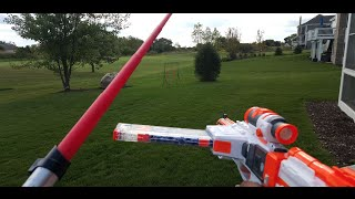 First Person Star Wars Nerf vs Halo Boomco