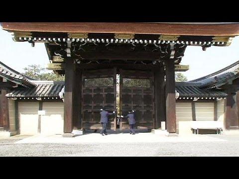 Réouverture printannière du palais de Kyoto