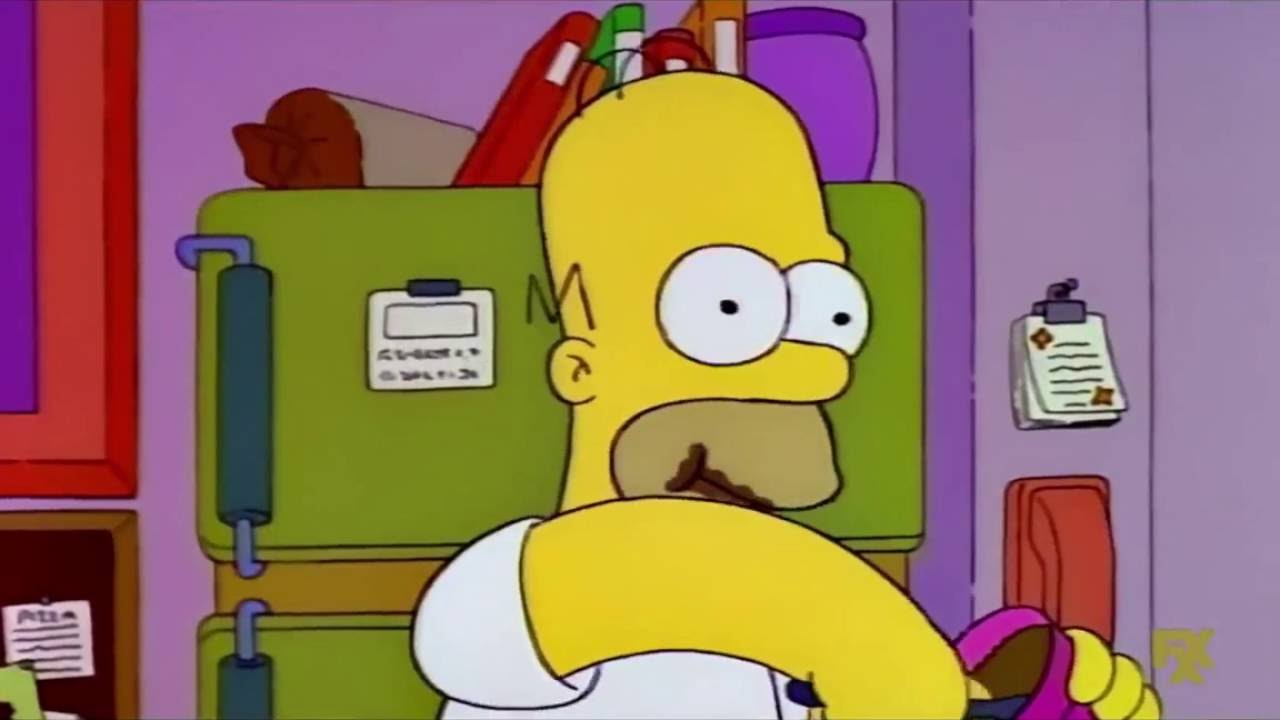 Homer Simpson S Metal Dealy Used To Dig Food Youtube