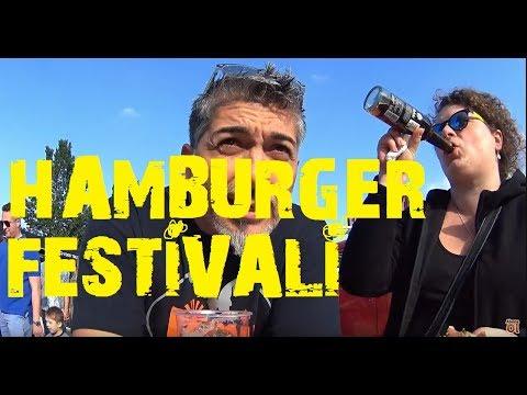 ALMANYA da Hamburger festivali