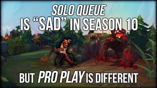 "Why League of Legends Solo Queue Is ""Sad""... But Pro Play Is So Different"