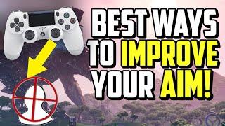 Wie aIM BETTER auf Controller Fortnite! (PS4 + XBOX Zieltipps)