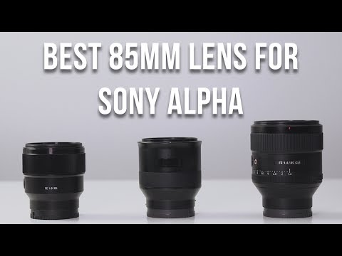 Thumbnail: BEST 85MM LENS FOR SONY ALPHA a9 a7R II a7 II a6500 a6300 a6000