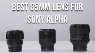 All great portrait, short-telephoto prime lens choices! But each 85...