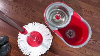 Комплект для уборки дома: Super 8S (швабра и ведро с отжимом)