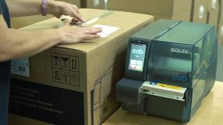 Label printer SQUIX - designed for industrial application