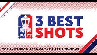 Three Years - Three Shots | Top Three shots on the Disc Golf Pro Tour