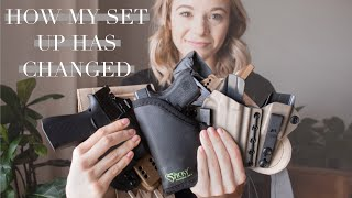 How My Concealed Carry Set Up Has Evolved Over Time