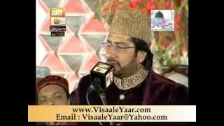 Tasleem Sabri Manazara( Eidgah Sharif Mehfil Milad 22/4/13)By Visaal