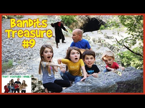 Sneaking Into The Bandits Camp  Bandits Treasure Part 9  That YouTub3 Family