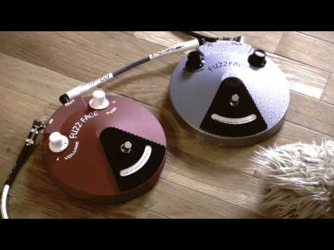 Jim Dunlop BAND OF GYPSYS Fuzzface vs blue Hendrix Fuzz Face pedal shootout