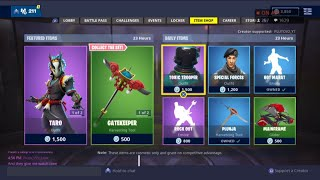 *NEU* TARO & NARA SKIN | 24. November New Skins - Fortnite Item Shop Live (Fortnite Battle Royale)