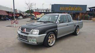 จัดมาให้ชมแล้วจ้า-mitsubishi-strada-l200-สเต็ปเครื่องเดิมปั้มสาย-4d56-เซ็ตโบ-รถซิ่งไทยแลนด์