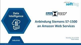 Anbindung Siemens S7 1500 an die Amazon AWS IoT Plattform