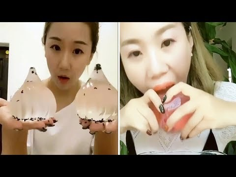 [ASMR NO TALKING] Ice Eating ASMR - (Eat the whole word) / Ice Chewing #117