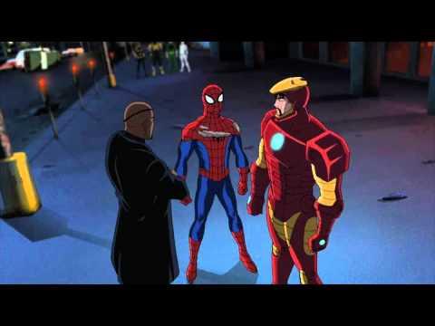 Spider-Man meets Ironman - Ultimate Spider-Man