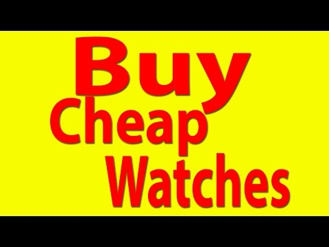 Buy Cheap Watches Online With Free Shipping