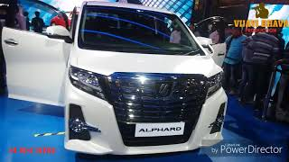 Toyota Alphard | luxury van | Now in india 2018 | review