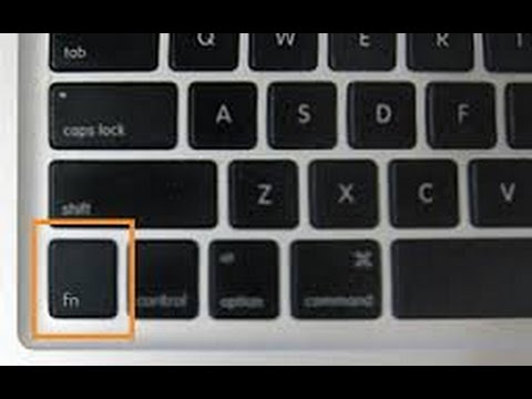How To Lock The FN Key Tutorial