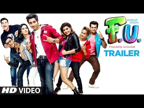FU Official Trailer | FU (Friendship Unlimited) - Marathi Movie Trailer | Aakash Thosar
