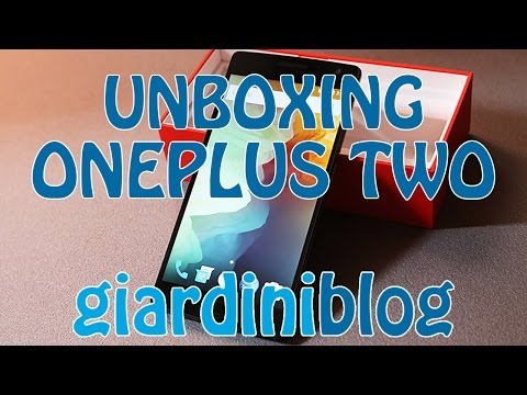 OnePlus Two - Unboxing