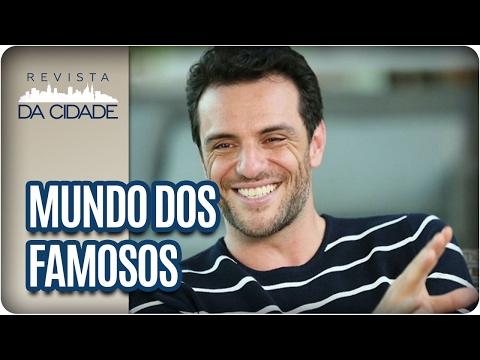 Rodrigo Lombardi, Ludmilla e Luan Santana  - Revista da Cidade (09/02/2017)