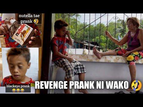 Download VLOG #228 : REVENGE PRANK NI WAKO   NUTELLA TAE UG BLACKEYE PRANK