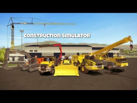 🔥TOP5🔥REALISTIC CONSTRUCTION SIMULATOR GAMES FOR ANDROID 2019【MD】