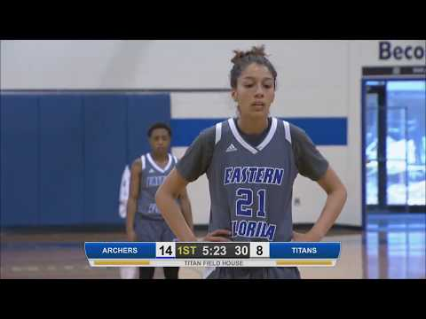 EFSC - Women's Basketball - Eastern Florida State College vs. St. Louis Community College