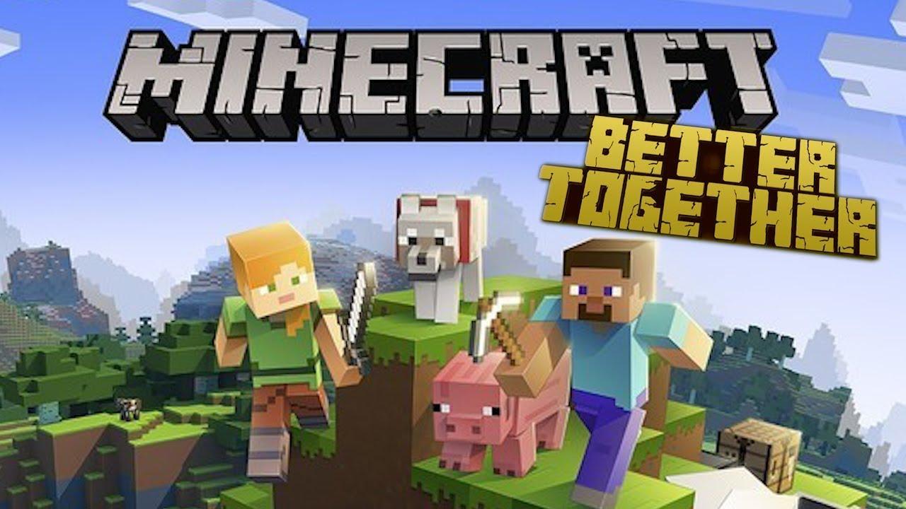 VAMOS JOGAR JUNTOS - Minecraft Better Together - Xbox One / MCPE / Switch /  Windows 9
