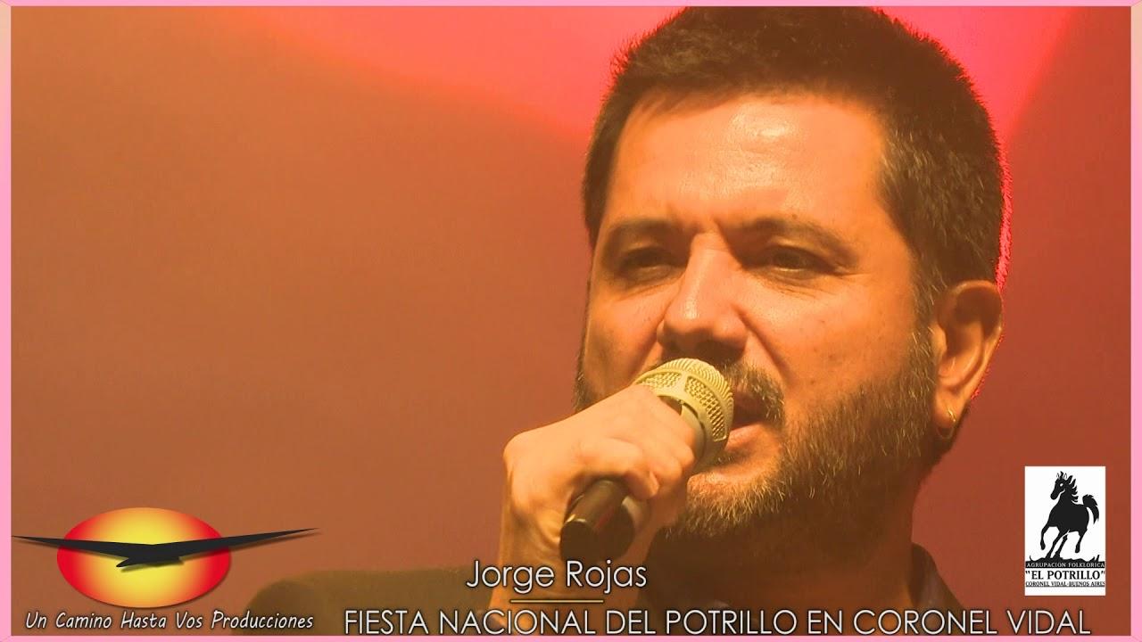 Jorge Rojas en la Fiesta Nacional del Potrillo en Coronel Vidal