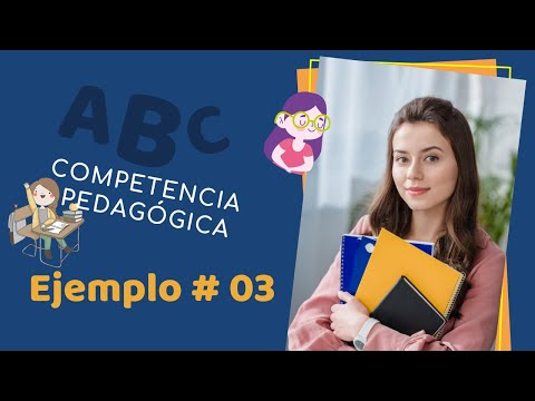 Concurso docente 2016 competencia pedag gica ejemplo 03 for Curso concurso docente 2016