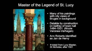 Master of the Saint Lucy Legend