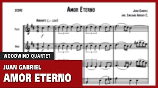 Amor eterno sheet music