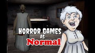Horror Games Characters as Normal Characters (In Kid's Cartoons)