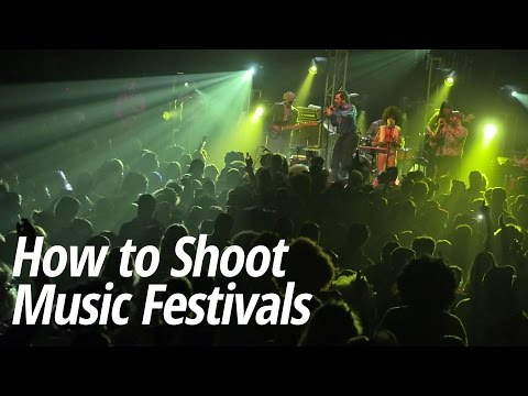 How To Photograph Music Festivals