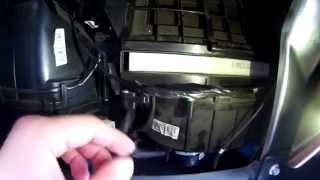 Замена салонного фильтра Great Wall Hover H5 2013 года выпуска.