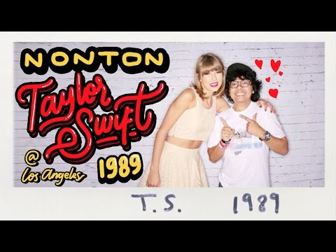 NONTON TAYLOR SWIFT 1989 CONCERT DI LOS ANGELES! (Dedicated to Swifties Indonesia) - Vlog #020 Mp3